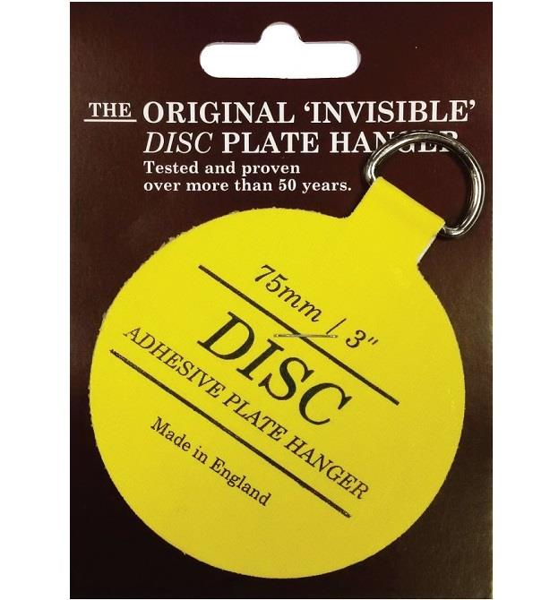 The Original Invisible disc plate hanger tested and proven over more than 50 years. These Plate Hangers are great for hanging porcelain china ...  sc 1 st  Stony Stratford Milton Keynes & Disc Plate Hanger | Odell u0026 Co. Ltd. - Ironmongers u0026 Cookshop ...